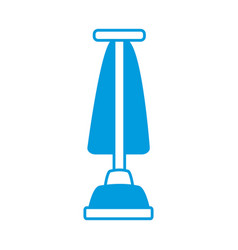 vacuum cleaner isolated vector image