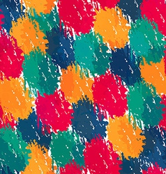painting style seamless pattern vector image vector image