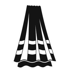 bath towel icon simple style vector image
