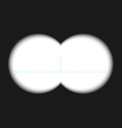 Binocular view vector