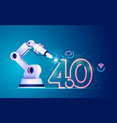 Futuristicindustry vector