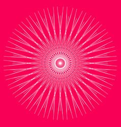 geometric mandala sacred geometry art circular vector image
