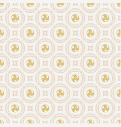 pattern 0043 japanese symbol vector image