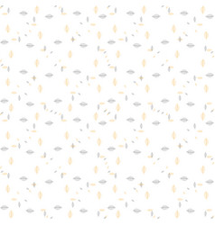Seamless pattern with yellow and black vector
