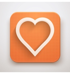 Heart Icon Premium vector image