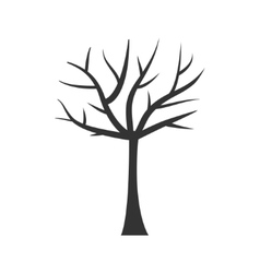 Tree trunk silhouette Tree branch Plant clip art vector image