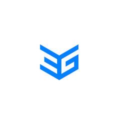 3g logo icon monogram vector image