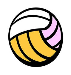 A dodge ball vector image vector image