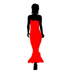 ball gown fashion vector image