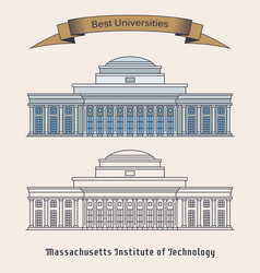 Massachusetts institute of technology or mit vector