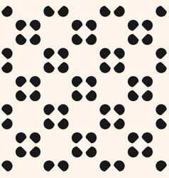seamless pattern polka dot circles texture vector image