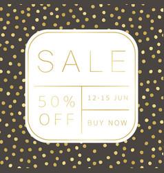 stylish sale banner design vector image