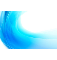 Abstract background smooth blue curve and blend vector