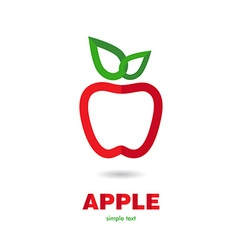 AppleR vector image