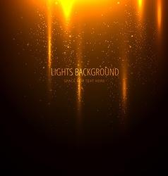 Beautiful lights background vector