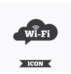 Free wifi sign Wifi symbol Wireless Network vector image