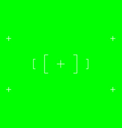 Green screen chromakey background blank green vector