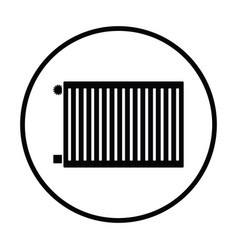 icon of radiator vector image