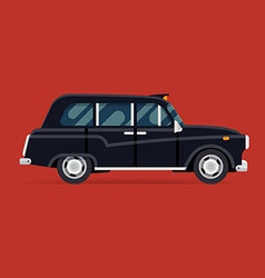 London taxi icon vector