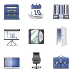 Office icons 2 - bella series vector