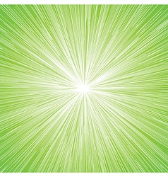 sun burst blast background green vector image