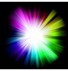Abstract multicolor design vector image