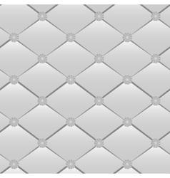 Grey rhombic seamless vector image