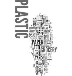Would you like paper or plastic text word cloud vector