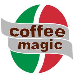 coffee magic 3 vector image vector image