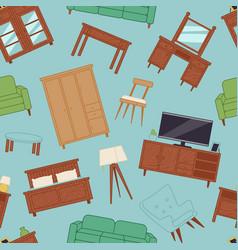 furniture interior home design modern living room vector image vector image