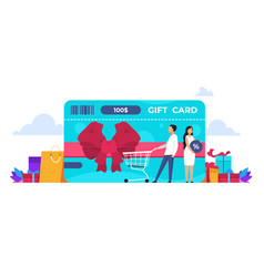 discount concept retail loyalty program online vector image