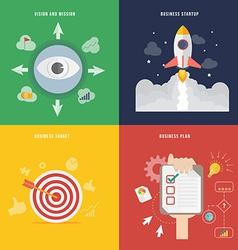 Element of business development concept icon vector