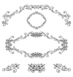 Frames and borders vector image
