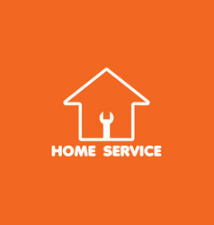 Home service logo template design vector