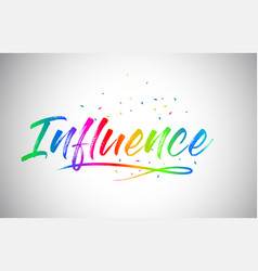 Influence creative word text vector