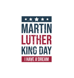 Martin luther king jr day vector