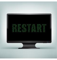 Monitor code restart vector
