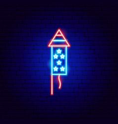 Usa petard neon sign vector