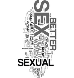 Would you like to be known as a sex god text word vector