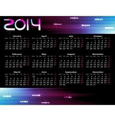 Year calendar vector