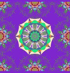 abstract mandala islam arabic indian turkish vector image vector image