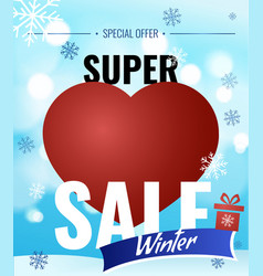 sale new year poster vector image