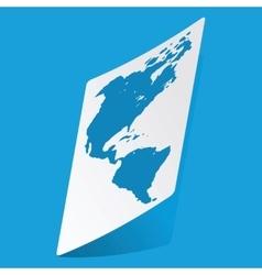 America sticker vector image