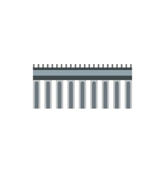 Bridge icon in flat style vector image