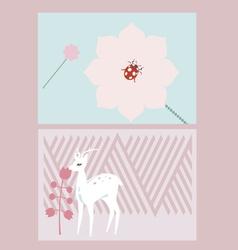 Creative cards design vector
