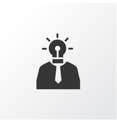 creative person icon symbol premium quality vector image