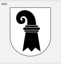 Emblem of basel vector