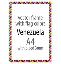 Flag v12 venezuela vector