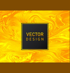 golden background with waves luxury design vector image