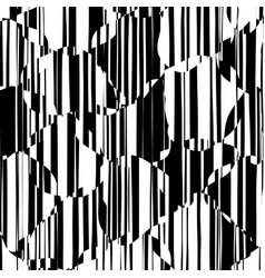 Random chaotic lines abstract geometric pattern vector